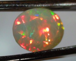 2.85 ct Stunning Natural Gem Rainbow Welo Facet M228