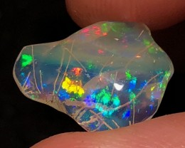 RUTILATED Mexican 4.3ct Crystal Opal (OM)