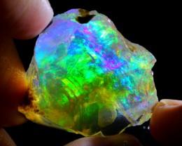 55ct ContraLuz Ethiopian Crystal Rough Specimen Rough