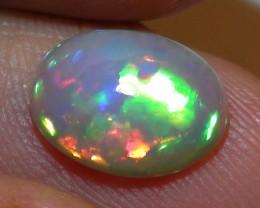 1.60 ct $1 NR Stunning Gem Rainbow Welo Cab M236