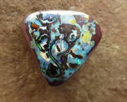 "32cts,""BOULDER MATRIX OPAL~KOROIT QUEENSLAND"""