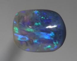 2.30 CT Crystal Black Opal from Lightning ridge Australia