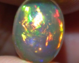 2.0 ct Beautiful Gem Bright Full Rainbow Color Welo Cab