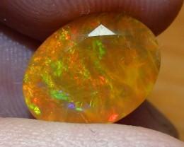 3.30 ct Ethiopian Gem Color Welo Opal Facet M222
