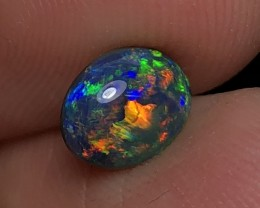 1.56ct Lightning Ridge Gem Black Opal LRS425