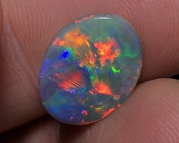 4.64ct Lightning Ridge Gem Black Opal LRS476