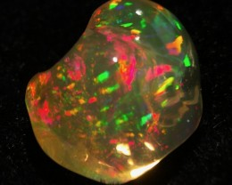 2.8ct GEM PINFIRE Mexican Crystal Opal (OM)