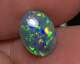 2.48ct Lightning Ridge Gem Black Opal LRS363A