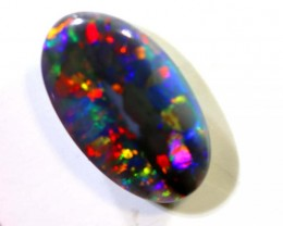 N2 -1.55 CTS QUALITY BLACK OPAL POLISHED STONE INV-1001
