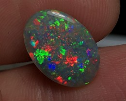 4.64ct Lightning Ridge Gem Dark Opal LRS399