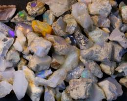 304ct Small Size Ethiopian Welo Rough Opal Parcel Lot
