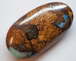 35.40CT VIEW  WOOD REPLACEMENT BOULDER OPAL OI619