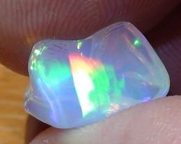 4.05 ct Ethiopian Gem Color Carved Freeform Welo Opal