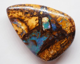 16.35CT VIEW  WOOD REPLACEMENT BOULDER OPAL OI624