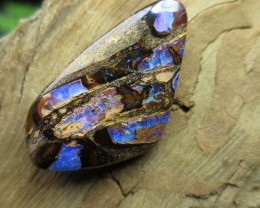 "41cts,""BOULDER MATRIX OPAL~2 SIDED UNIQUE STONE"""