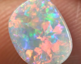 Lightning Ridge Solid Light Opal Stone 1.01ct