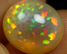 7.95cts EXQUISITE CELL HONEYCOMB PATTERN Natural Ethiopian Welo Opal