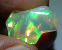 5.20 ct Ethiopian Gem Color Carved Free Form Welo Opal