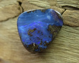 "12cts, ""BOULDER OPAL~SIDEWAYS DRILLED"""