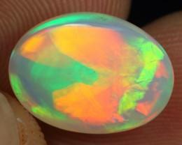 WHOLESALE - 4.20cts Rainbow Cascade Pattern Ethiopian Opal