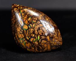 41.6ct Bright Koroit Boulder Opal, Natural Australian Solid Opal, Real Opal