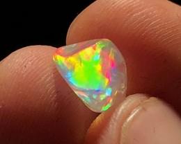 2.9ct SUPER BRILLIANT Mexican Crystal-Contraluz Opal (OM)