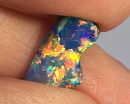Solid Black Boulder Opal from Quilpie