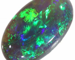 1.70 CTS SEMI BLACK OPAL STONE- FROM MINTABIE - [SAFE191]