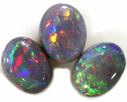 2.50 CTS SEMI BLACK OPAL PARCEL- FROM MINTABIE - [SAFE193]