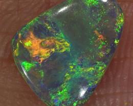 1ct 9x7.5mm Solid Lightning Ridge Dark Opal [LO-1145]