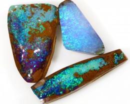 26.0cts 3pcs Boulder Opal Parcels WS292
