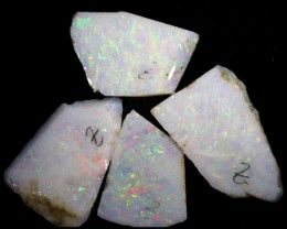 23.55 CTS SLICED  ROUGH OPAL PARCEL FROM COOBER PEDY [SAFE212]