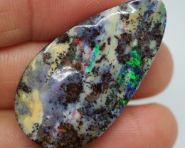 36.05CTS QUEENSLAND BOULDER OPAL  RE124
