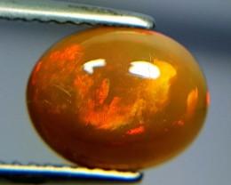 1.53 ct Marvelous Gem Oval Cut Natural Ethiopian Fire Opal