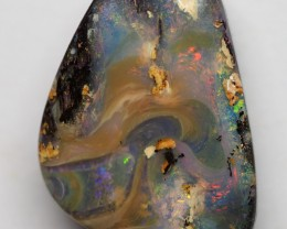 13.75CT BOULDER OPAL WOOD FOSSIL RE145