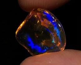 4.4ct DEEP BLUE Mexican Crystal Opal (OM)
