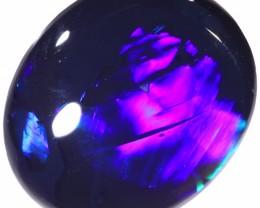 2.70 CTS BLACK OPAL STONE-LIGHTNING RIDGE- [LRO280]