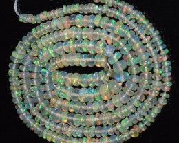20.15 Ct Natural Ethiopian Welo Opal Beads Play Of Color