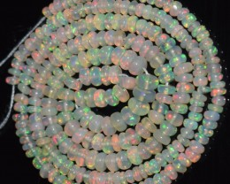 23.00 Ct Natural Ethiopian Welo Opal Beads Play Of Color