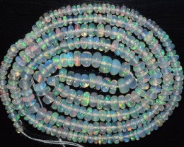 19.95 Ct Natural Ethiopian Welo Opal Beads Play Of Color