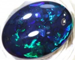 N1 10.15- CTS QUALITY BLACK OPAL POLISHED STONE INV-1032