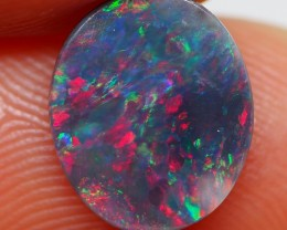 0.89CT BLACK OPAL FROM LIGHTNING RIDGE RE205