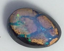 4.20cts Koroit Matrix opal and Crystal centres