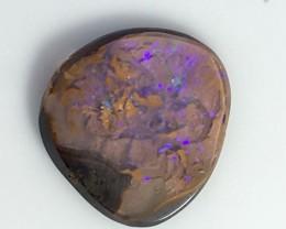 1.75 cts Koroit Matrix opal and Crystal centres