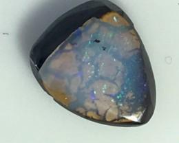 1.70 cts Koroit Matrix opal and Crystal centres