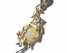 Pendant Silver 925 with Wello Opal Tot. Cts. 18  CV29