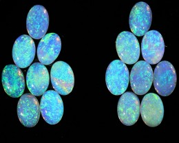 4.34CTS 16 PIECES CALIBRATED OPAL PARCEL GREAT COLOR PLAY- S724