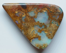 8.50CT VIEW  WOOD REPLACEMENT BOULDER OPAL OI812