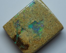 17.35CT VIEW  WOOD REPLACEMENT BOULDER OPAL OI823