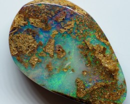 6.50CT VIEW  WOOD REPLACEMENT BOULDER OPAL OI825